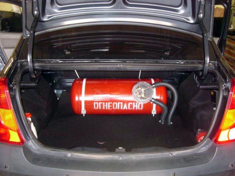 Газовое оборудование на автомобиль казань