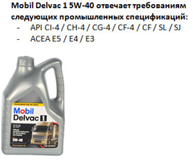 масла 5w — 40 для дизеля