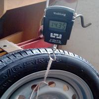Вес и объем шин