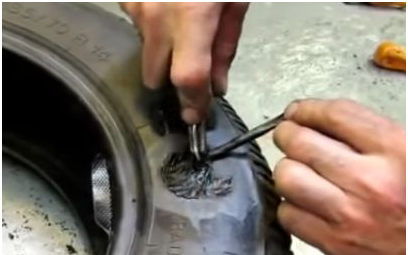 remont bokovyh porezov 1 - Чем заклеить шину автомобиля